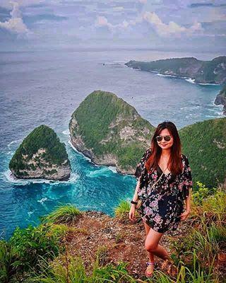 Paluang Cliff Thenusapenida Com Paket Tour Murah Nusa Penida